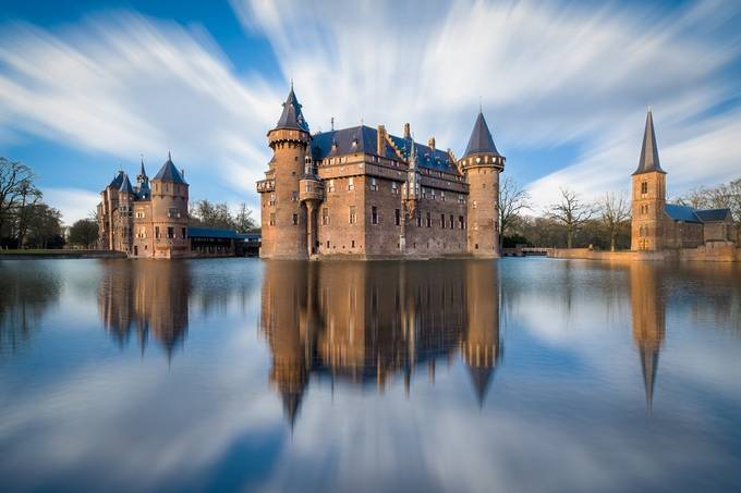 Castle de Haar by albertdros - Classical Architecture Photo Contest