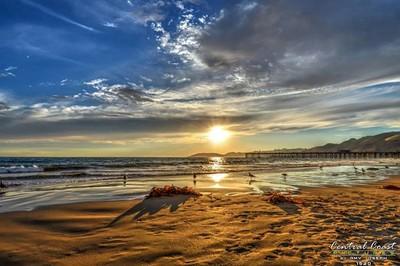 Golden Hour in Pismo Beach