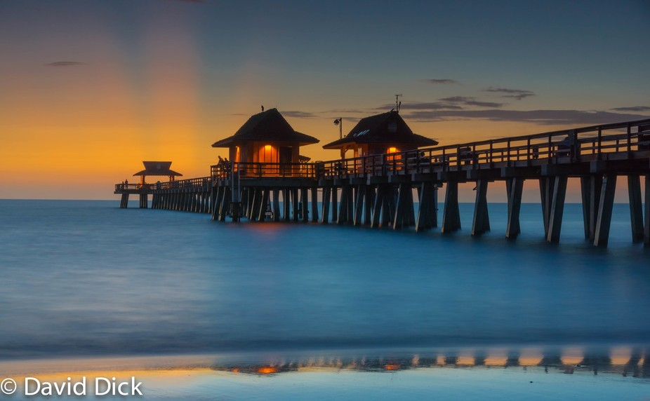 Naples Pier at sunset