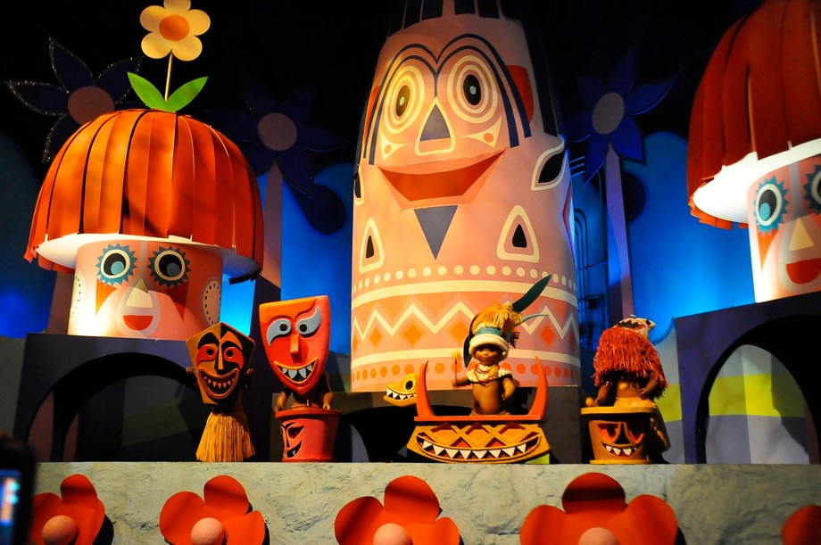 Taken at Disney World on the Its a Small World ride