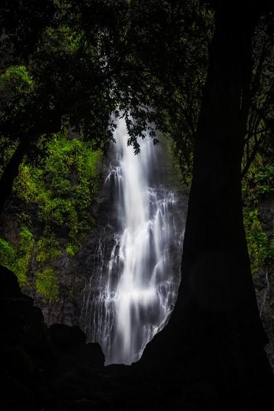 Vaimahutu Falls Tahiti