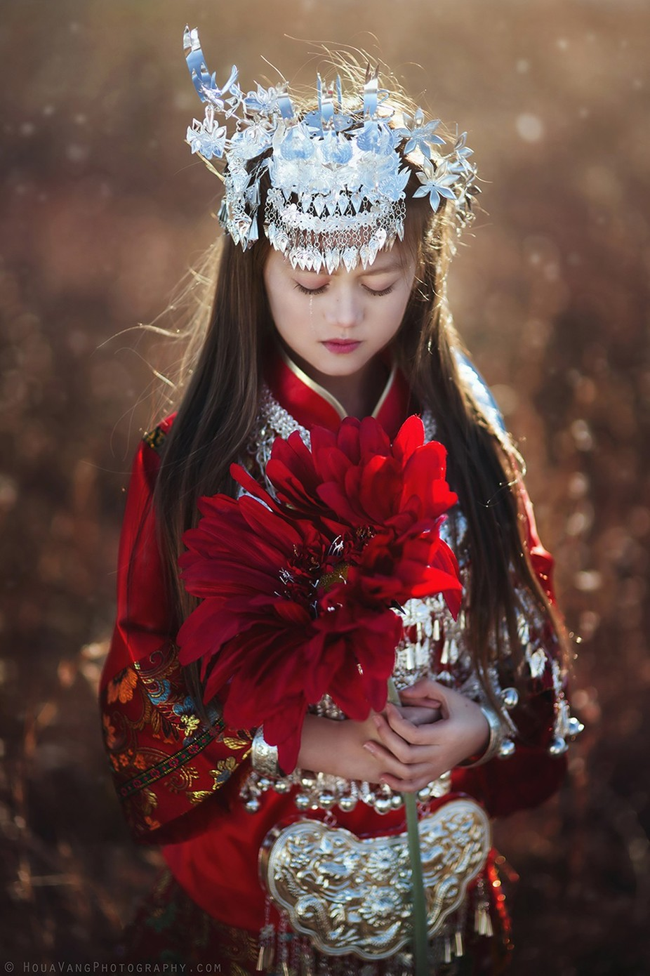 Young flower by HouavangPhotography - Kids With Props Photo Contest