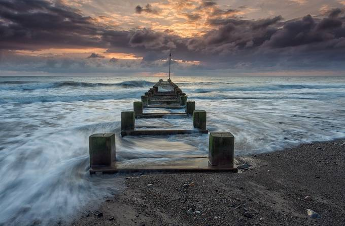 Hornsea Beach by phillg - In the Center Photo Contest