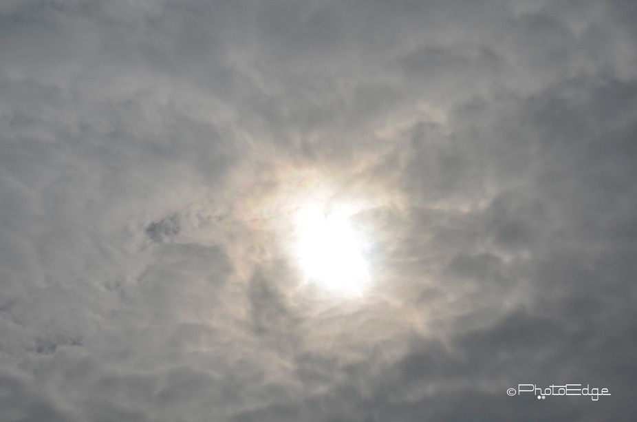 Clouds after eclipse
