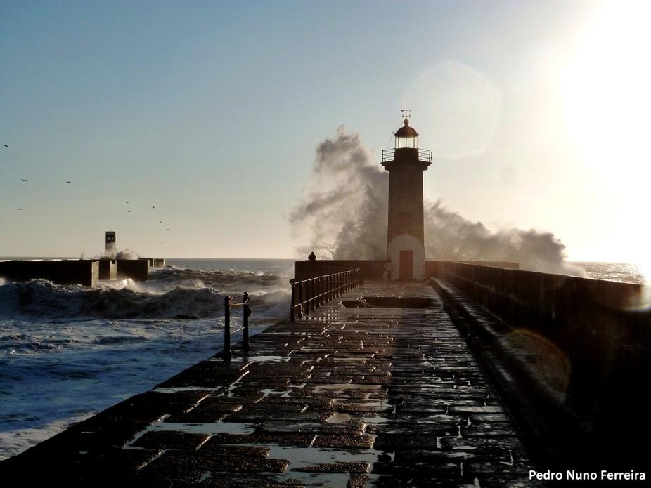 Porto - Farol de Felgueiras - Oceano Atlântico