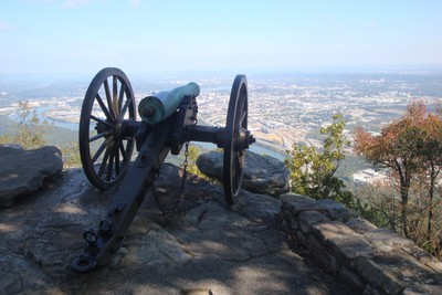 USA. Lookout mountain