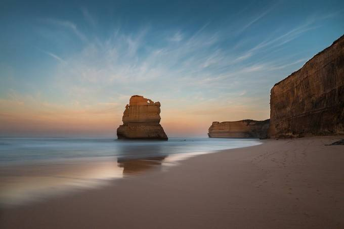 Beach at Gibson Steps Port Campbell by TrevJel - Monthly Pro Vol 10 Photo Contest