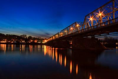 Blue Hour from Lambertville, NJ