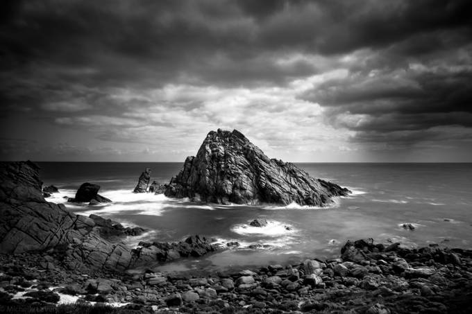 Moody by worm78 - The Water In Black And White Photo Contest