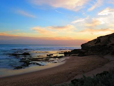 Sorrento Beach Sunset