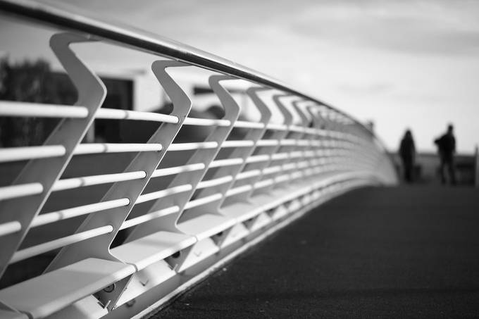 walking this way by SecaBlue - Rails and Fences Photo Contest