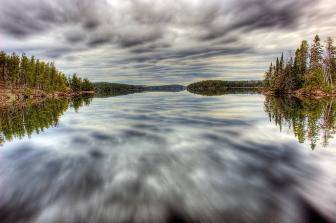 Weather on a Plate by Clipper24 - Nature In HDR Photo Contest