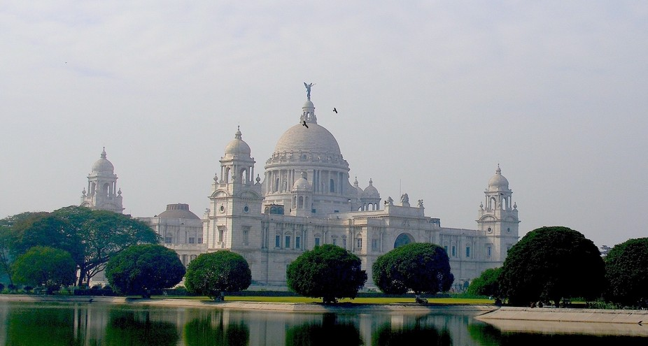 The Victoria Memorial in Kolkatta