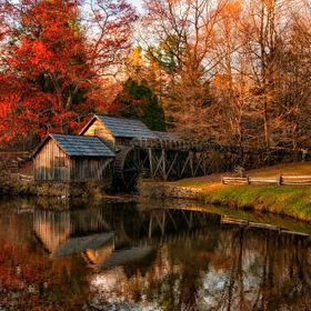 Mabry's Mill on the Blue Ridge Parkway, NC