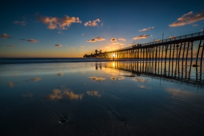 Oceanside Reflections