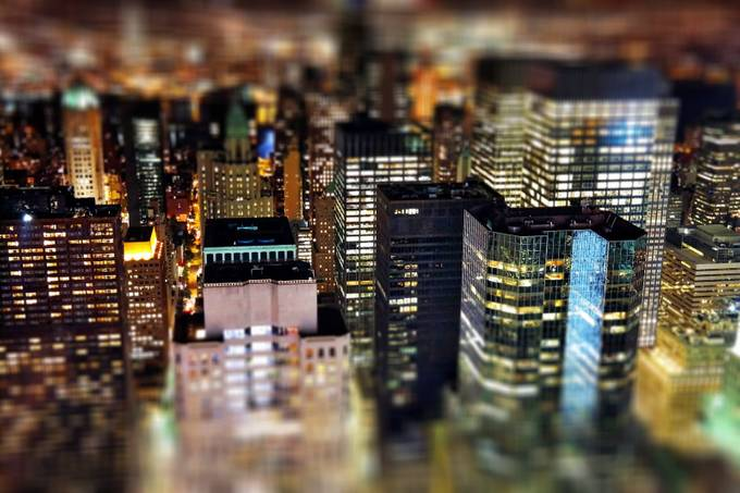 New York views by spikerbagger - TiltShift Effect Photo Contest