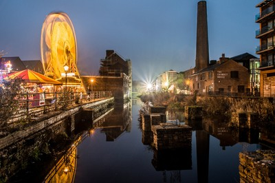 Lights and reflections of Kelham Island