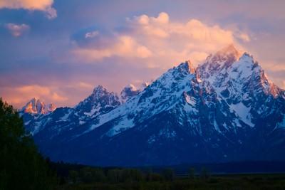 Grand Teton Cloudscape