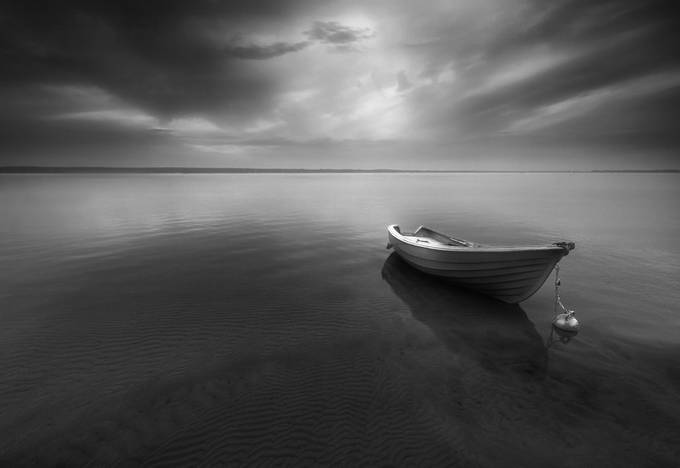 Boat... by kbrowko - Monochrome Creative Compositions Photo Contest
