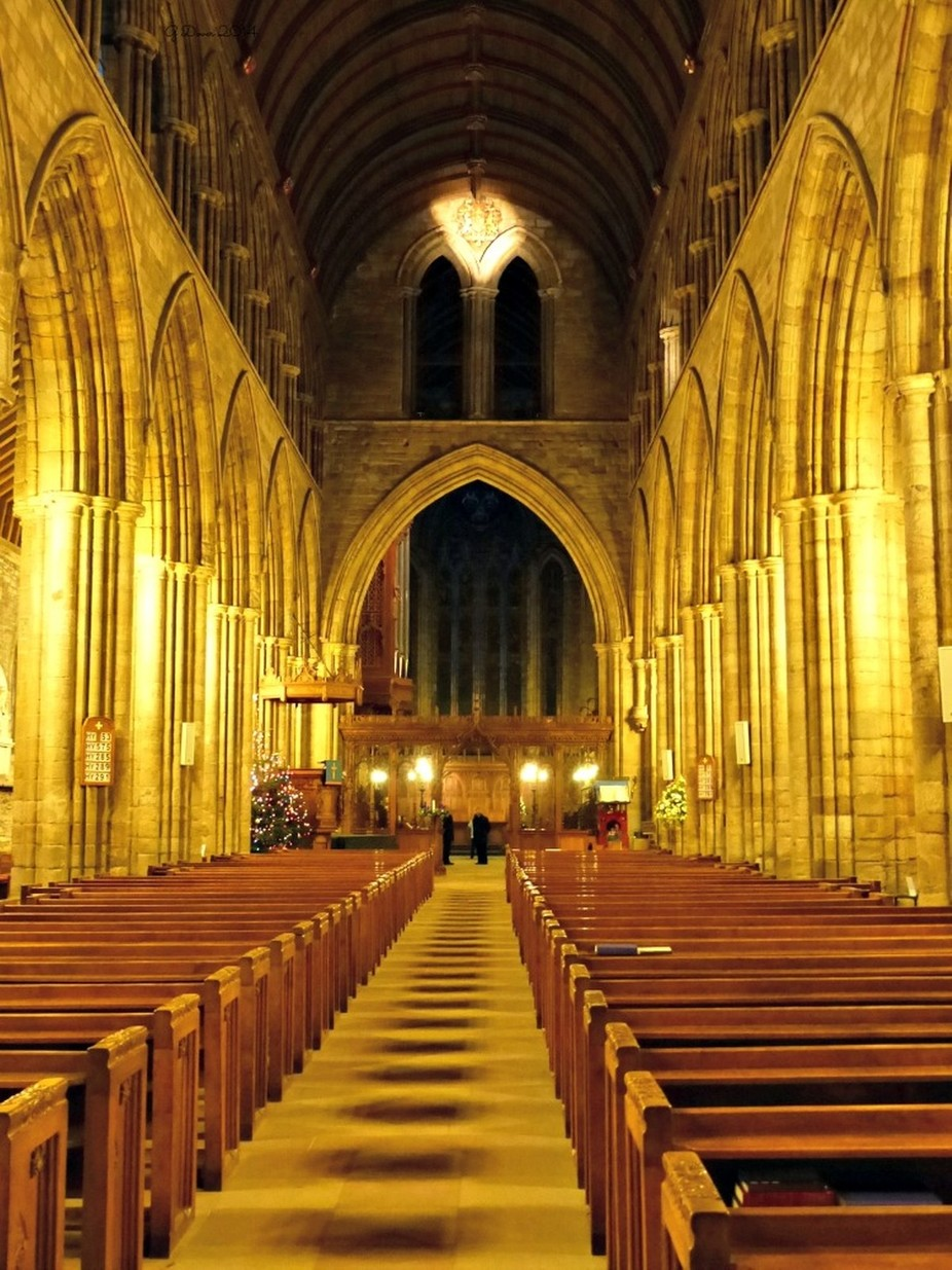 at Dunblane Cathedral