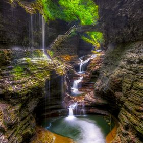 The main attraction at Watkins Glen State park. Prints for sale @ http://mark-papke.artistwebsites.com/