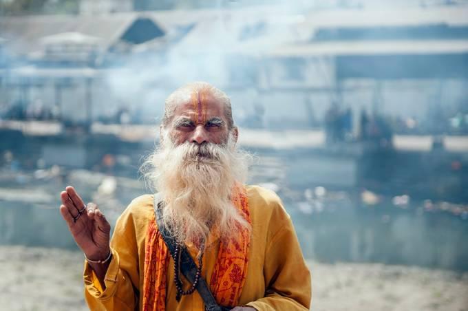 Sadhu of Kathmandu by GaryCummins