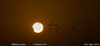 Partial Solar Eclipse 2013