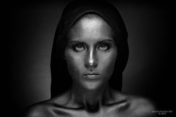 Silver portrait by Jacc