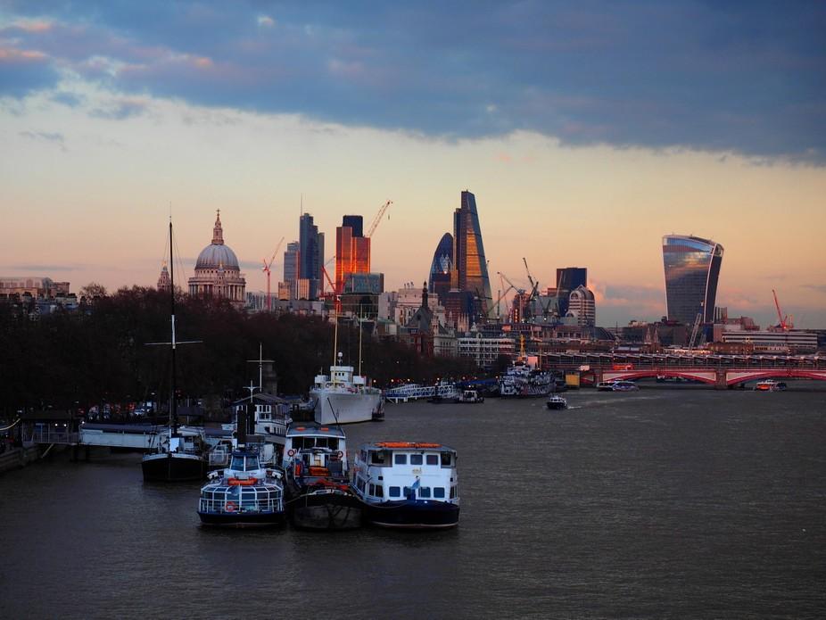 Taken from Waterloo Bridge