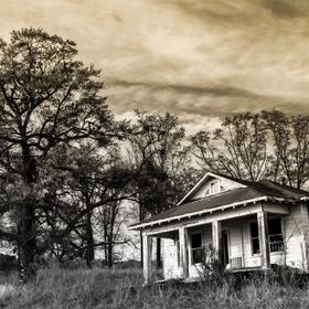 This is an old home located in Rankin County, MS. It's now the home of various other creatures.