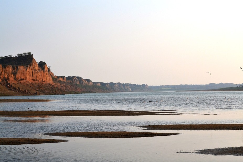 Once a habitat for outlaws in the central India, now a Croc & Ghariyal (Alligator\'s sibling) ...