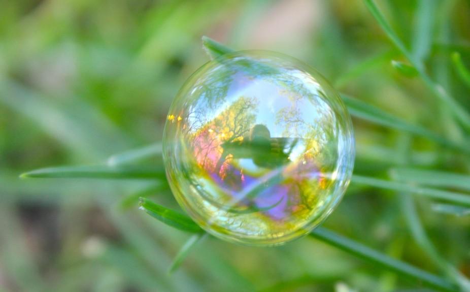 Selfie in a Bubble
