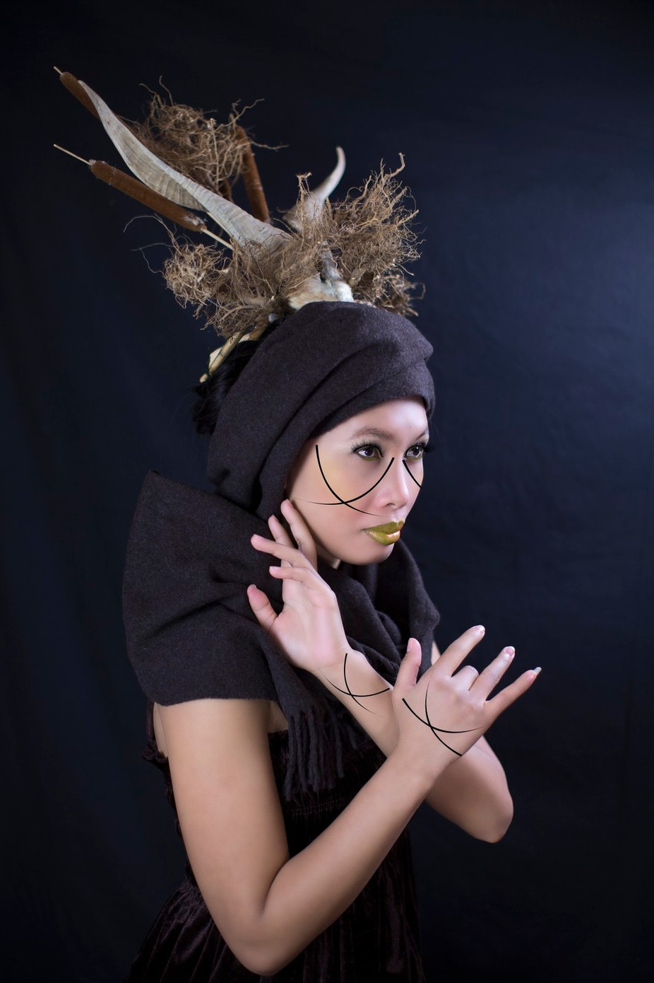 The Deer In Her by GigiJim08 - Paint And Makeup Photo Contest