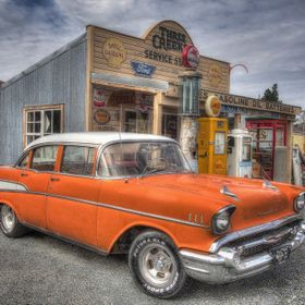Stepping back in time at Three Creeks Service Station at Arthurs Pass, McKenzie Country NZ