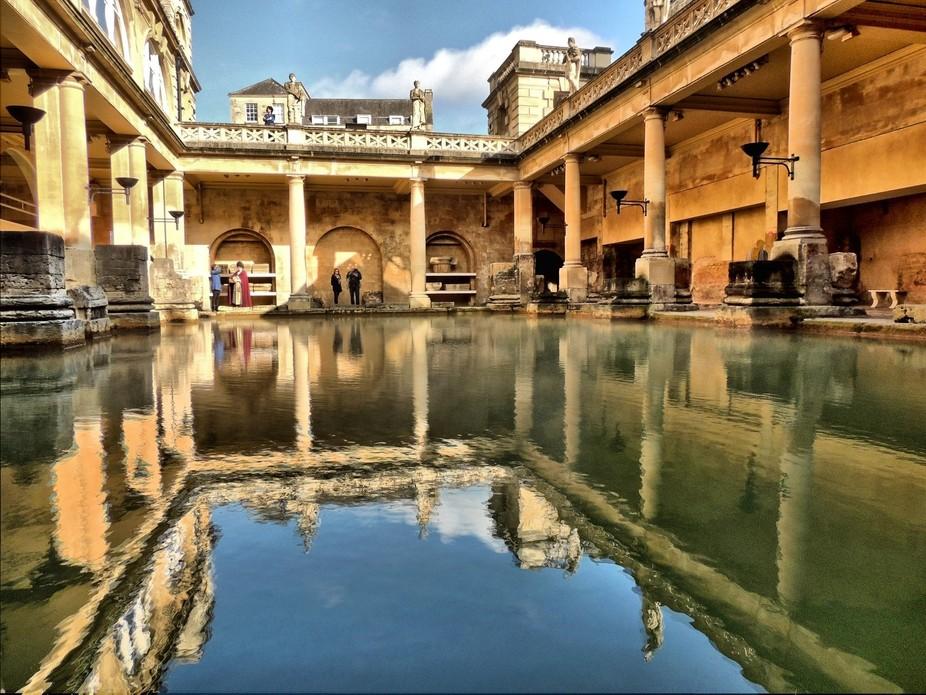 Bath Great Pool in HDR