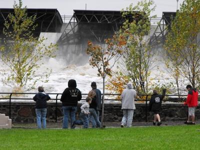 Wisconsin Rapids flood 2010
