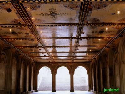Bethesda Terrace Ceiling Central Park