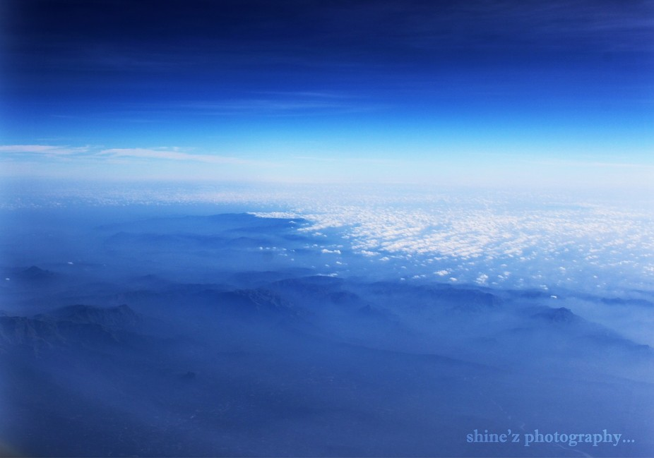 once i take this shot from airplane..when i saw the beauty of nature...