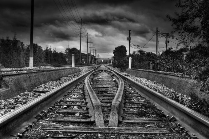 Perspective by Angel1957 - Empty Railways Photo Contest
