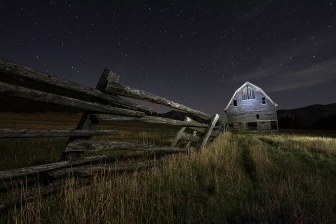 Many Nights by larryrogers - Rails and Fences Photo Contest