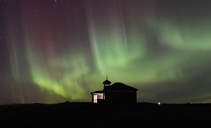 School House Aurora by craigboehm - Long Exposure Views Photo Contest