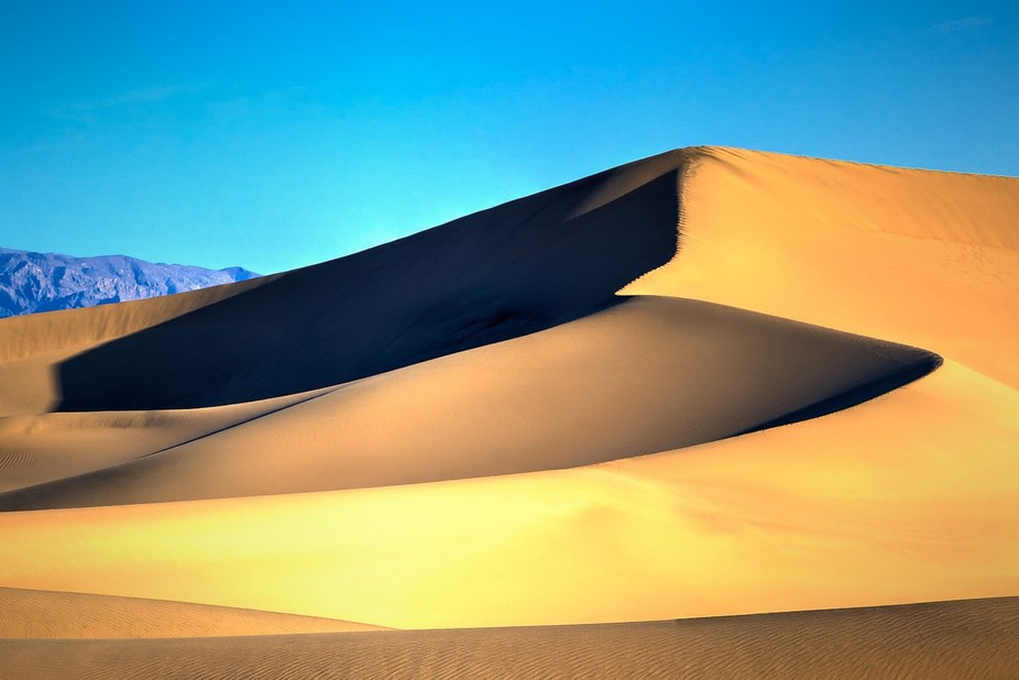 Mesquite Falt Sand Dunes, Death Valley, CA, USA