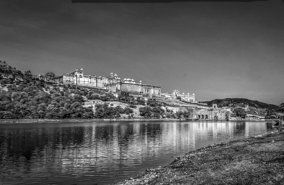 Amber Fort was built by Raja Man Singh I.Amber Fort is known for its artistic style, blending bot...