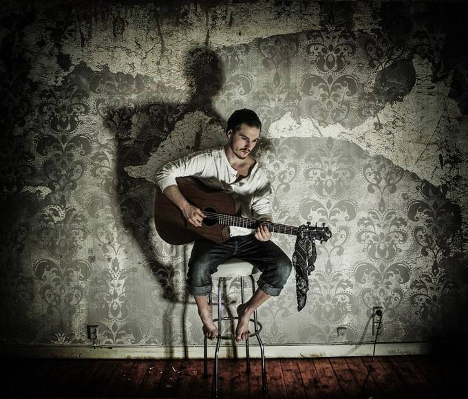 The guitarist by sandrahila - Music And Concerts Photo Contest