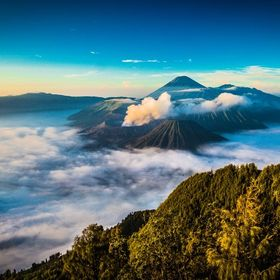 BROMO MOUNTAIN at east java indonesia i will show if you come to my country :D