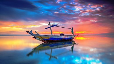 one boat