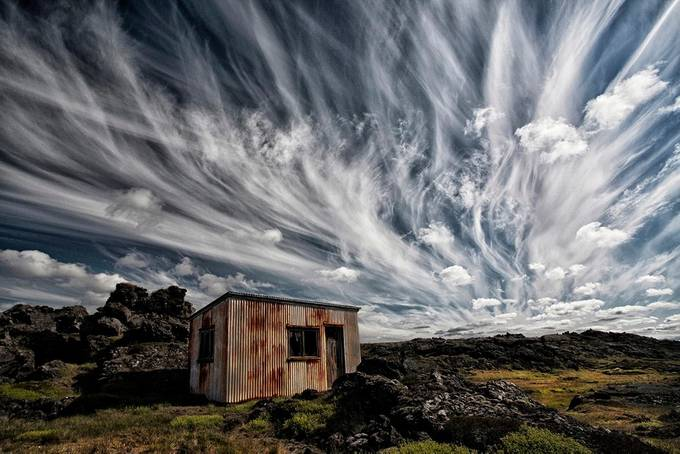 Fluffy Sky  by Structor - Image of the Year Photo Contest by Snapfish