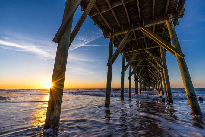 Topsail Sunrise by LarryGreene - Sun Flares Photo Contest