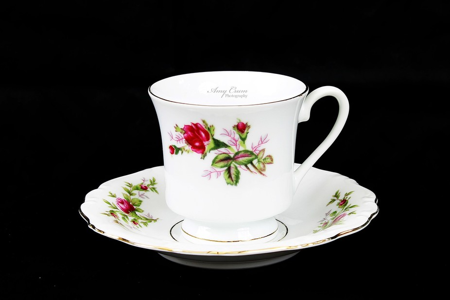 old Tea cup and Saucer