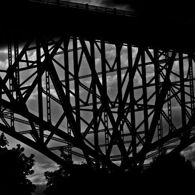 Aurora Bridge at Dusk